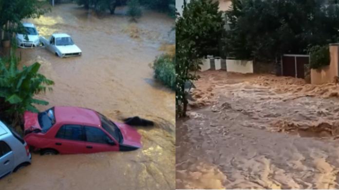 Κρήτη: Σοβαρά προβλήματα από την κακοκαιρία στον δήμο Χερσονήσου