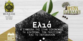 """Με ψηφιακές δράσεις οι φετινές εκδηλώσεις της ΦΙΛΑΙΟΣ για το θεσμό """"Ημέρες ελαιόλαδου και ελιάς"""""""