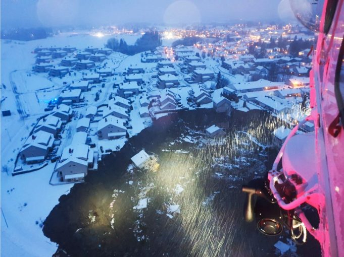 Χιονοστιβάδα καταπλάκωσε χωριό στη Νορβηγία – Δεκάδες αγνοούμενοι