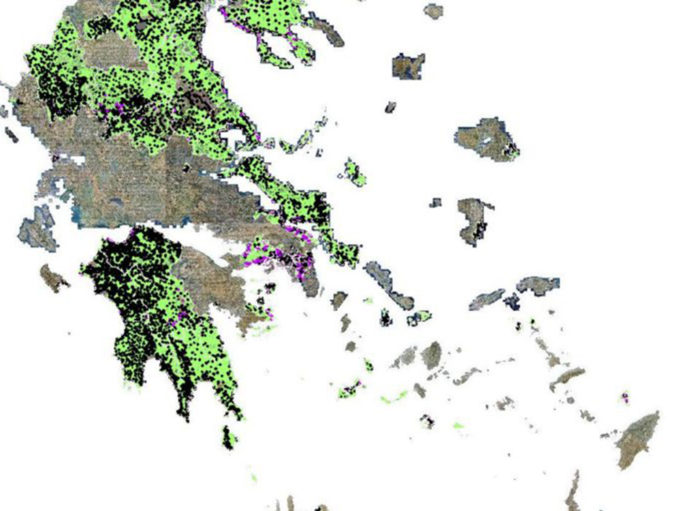 Αναρτήθηκε ο θεωρημένος δασικός χάρτης της Αργολίδας