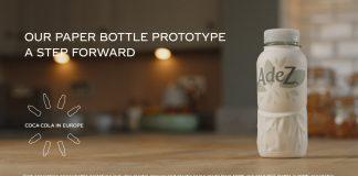 Η Coca-Cola στην Ευρώπη θα δοκιμάσει το πρώτο της πρωτότυπο μπουκάλι από χαρτί.