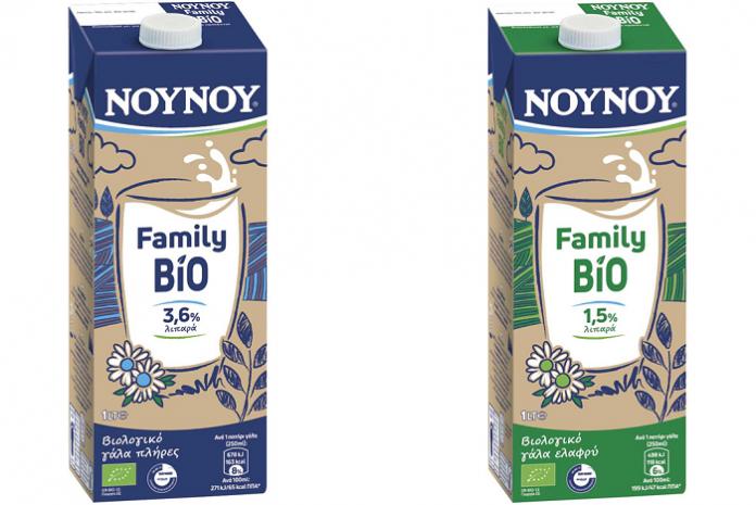 ΝΟΥΝΟΥ Family Bio: Το βιολογικό γάλα που «φορτίζει βιολογικά την ημέρα σου»...