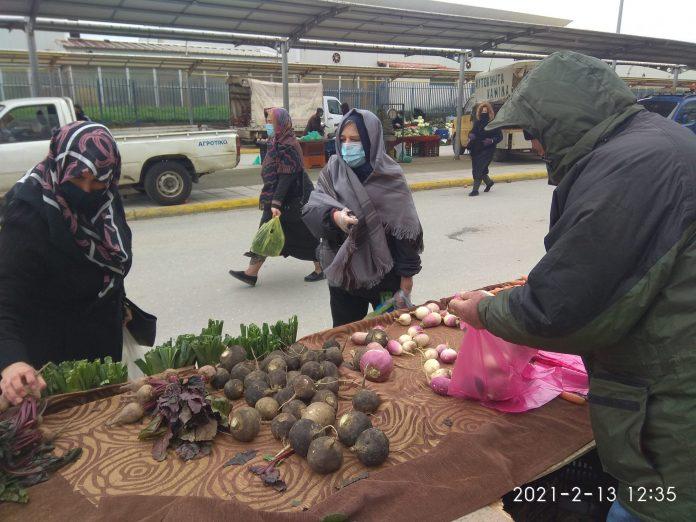 Δεν θα στήσουν πάγκους στις λαϊκές οι παραγωγοί της Θεσσαλίας στις 7/4 λόγω απεργίας
